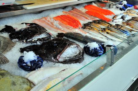 city fish market: Fish market in Bergen