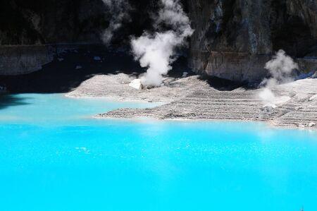 Inferno crater in Waimangu Volcanic Valley