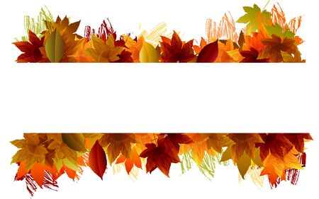 Fall background  EPS 10 file,all elements are in separate layers Very easy to edit having translucency and mesh use