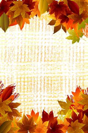 Jesień tła EPS 10 plik, wszystkie elementy są w oddzielnych warstwach Bardzo łatwo edytować konieczności przezierność i siatki korzystania