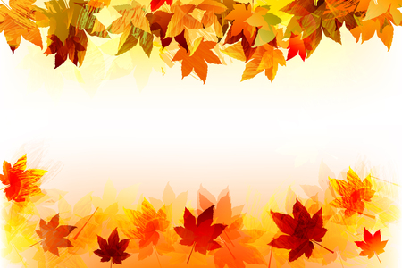 Fall background  EPS 10 file,all elements are in separate layers Very easy to edit having translucency and mesh use  Vector