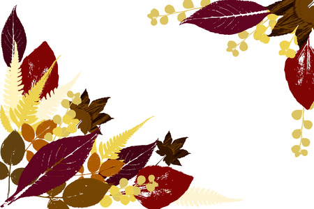 Beautiful Fall Background   Vector