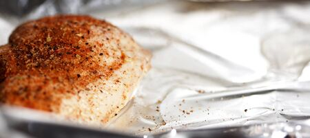baked: Baked spice chicken