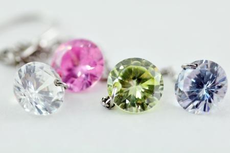 green gemstone: Colorful Crystal