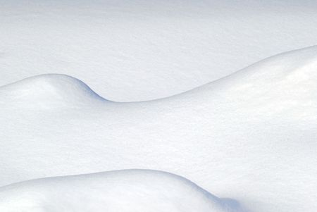 Abstract picture of some snow drift
