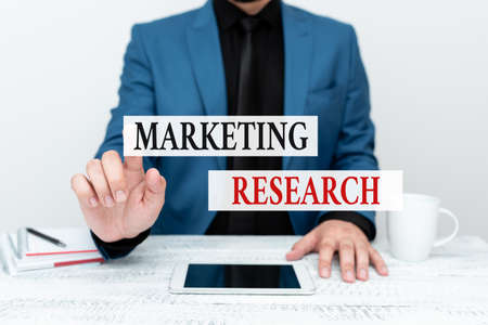 Conceptual caption Marketing Research. Conceptual photo process of determining the viability of a new service Presenting Communication Technology Smartphone Voice And Video Calling Фото со стока