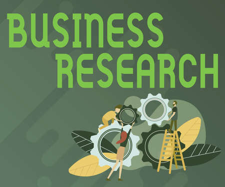 Sign displaying Business Research. Conceptual photo process of acquiring detailed information of the business Abstract Helping Build Community, Society Working Together Concept