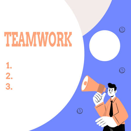 Conceptual caption Teamwork, Concept meaning the group s is collaborative effort to accomplish a common goal Abstract Displaying Different Typing Method, Keyboard Data Processing