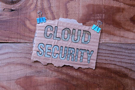 Conceptual display Cloud Security. Concept meaning protection of data stored online from theft and deletion Colorful Perpective Positive Thinking Creative Ideas And Inspirations