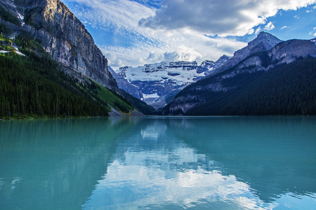 rocky mountains: Lake Louise, Rocky Mountains, Canada Stock Photo