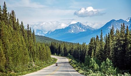 rockies: Motorcycle road trip in the Rockies