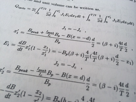 troublesome: mathematical formulas