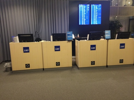 buisiness: sas business lounge ticket office
