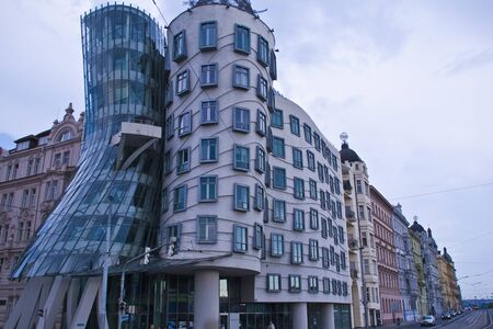 the dancing house: Praga - Casa Danzante