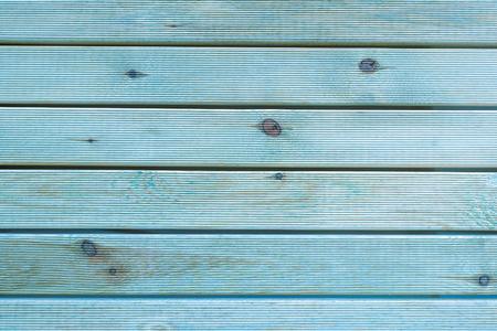 Malowane Plain Teal Niebieski i Szary Rustic Wood Board Tła, które mogą być poziome lub pionowe. Przestrzeń pusta lub przestrzeń do kopiowania, tekstu, słów, powyżej widoku w dół.
