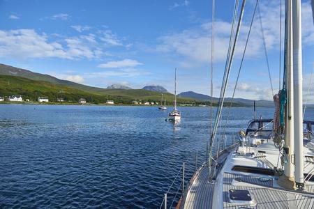 Isle of Jura towards Paps of Jura from a Yacht