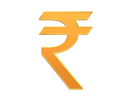 Indian Rupee Symbol Stock Photo Picture And Royalty Free Image