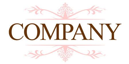 logos negocios: Logotipo de la compa��a Vintage  Vectores