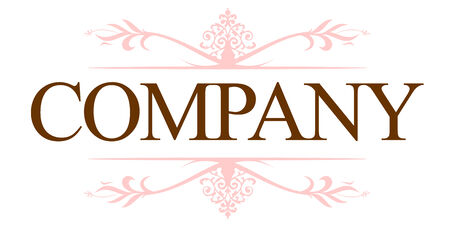 icons logo: Vintage Firmenlogo  Illustration