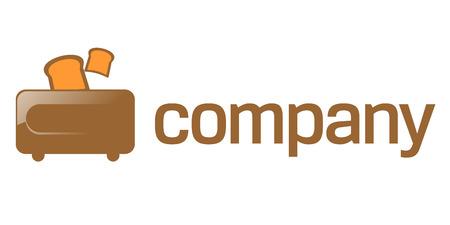 Toaster company logo Stock Vector - 7427561