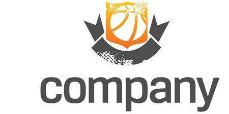 Basketball  League logo 일러스트