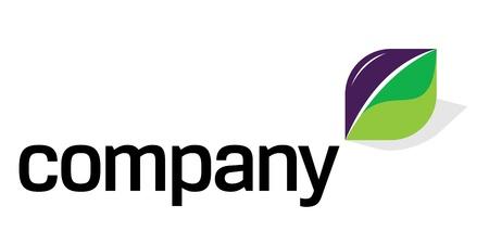 saludable logo: Logotipo con el deporte de energ�a verde Vectores