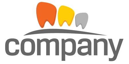 logo medicina: Logotipo de dientes de odontolog�a Vectores