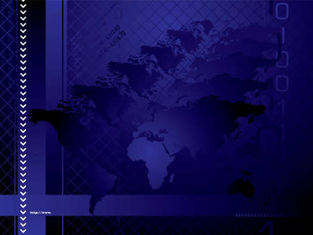 0 geography: An abstract business background with a hologram like map of the world