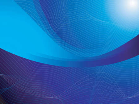 An abstract background with flowing blue shapes and white lines Stock Photo - 924621