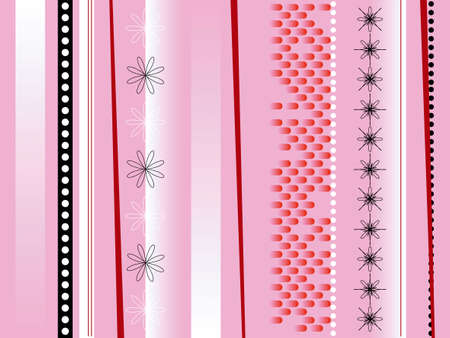 bloat: An abstract background in the style of some wrapping party paper Stock Photo