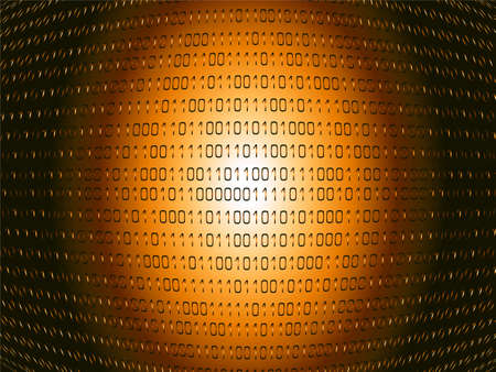 0 geography: Abstract binary background showing information passing through the internet Stock Photo