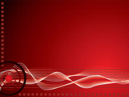 maroon background: Abstract red illustrated background with an overlayed grid