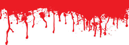 grungy header: Blood splat header ideal for the top of a page