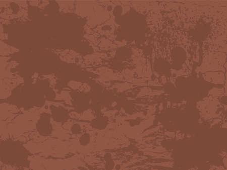 Textured ink splat design in different shades of brown photo