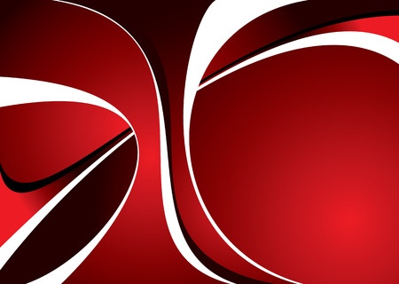 Abstract red and black background with room to add text