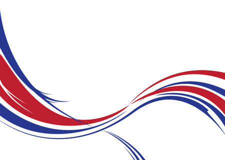 Abstract background in red white and blue us colors