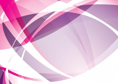 Pink and purple abstract background with flowing lines and copy space