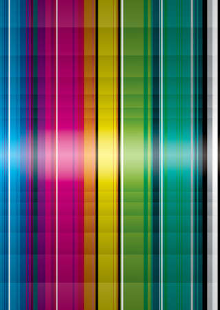 Illustrated rainbow background with plenty of copy space Stock Photo - 3307922