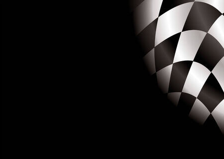 checkered flag style background with room to add your own copy