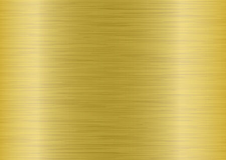 golden metal background that would make an ideal backdrop to a presentation Illustration