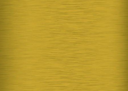 Brushed metal background with a golden colour and copy space