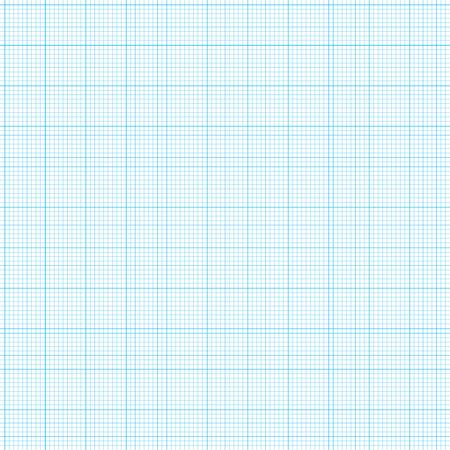 blauwe grid grafiek papier met verschillende grote lijnen