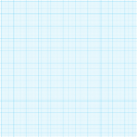 blue grid graph paper with various size lines