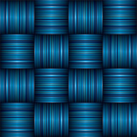 abstract Striped weave background effect with shadow effect Stock Vector - 5192295