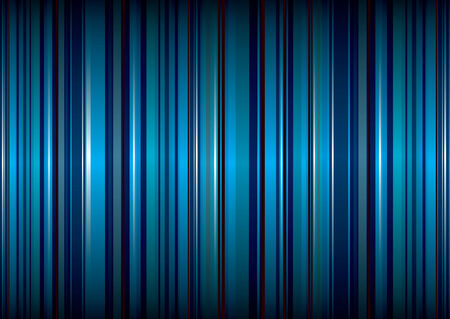 bright blue stripe abstract background with ribbon effect Illustration