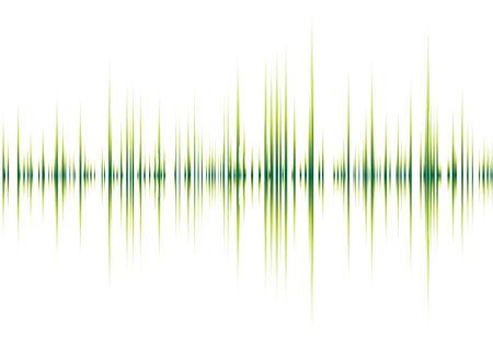 Abstract musicale ispirato grafica di sfondo con picchi