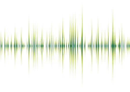 Résumé graphique musical inspiré l'image de fond avec des pointes