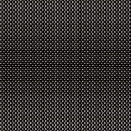Black carbon weave background with seamless tile background Illustration