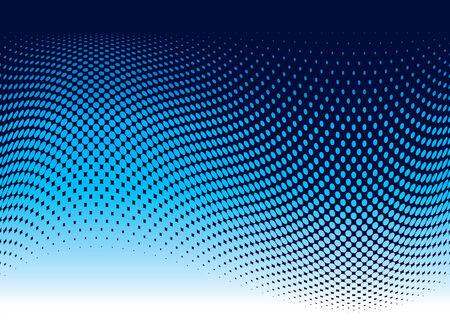 Arrière-plan de vague océan résumé en bleu avec espace de copie  Vecteurs