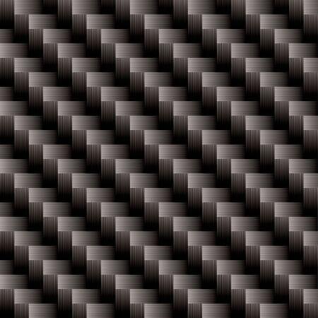 Seamless illustrated carbon fiber background pattern that will repeat Standard-Bild